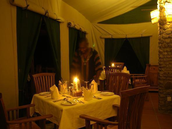 Mbuzi Mawe Tented Camp - Dining